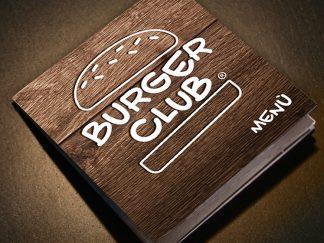 Burger Club - creazione nuovo menù